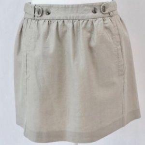 Metallic Shimmer Anthropologie Skirt Size 4